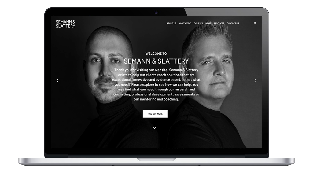 Semann & Slattery WordPress Website